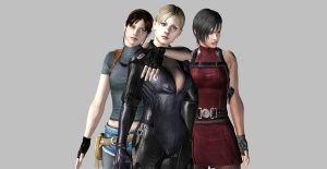 Resident Evil Ladies by LinksTRUEGirlfriend