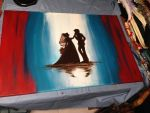 Guest Book Painting by KitBashCreations