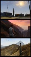 Grand Theft Auto V studies by EthicallyChallenged