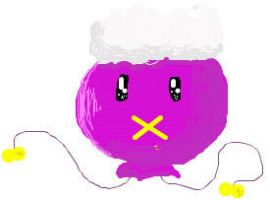 AWESOME ISCRIBBLE DRIFLOON by Lyanna-the-Ghost