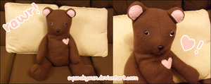 Mousey Bear Plush by SqueakyToybox