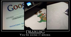 You're Doing It Wrong. by stop-tracing