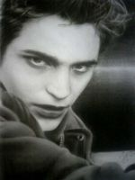 Edward Cullen Rob Pattinson by baxxspace