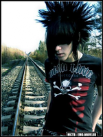 crazy emo hair by blaike38