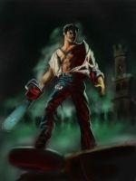 evil dead cover by guang2222