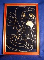 MLP - Fluttershy (ENGRAVE) by Cerebralis