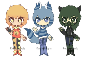 Guys adopts batch 2 (Closed) by Rusty-Adopts