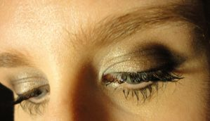 Eye Study: Down and Left by PeacefulSeraph