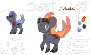 Soot Reference Sheet by BIossom
