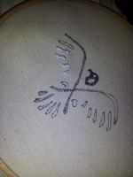 Assassin's Creed 3 - Hood Eagle Embroidery - WIP by deadlanceSteamworks