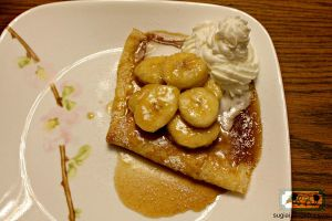 Crepes with Caramalized Bananas by SugiAi