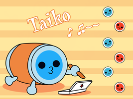 Taiko Wallpaper by Shirosayuri