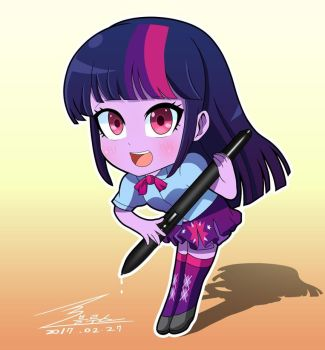 mlp Twilight sparkle(SD) by 0Bluse