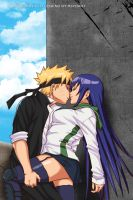 Commission: Naruto and Saeko by R-Legend