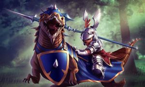 Heroes of Newerth - Sir Benzalot by Izaskun