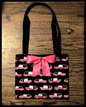 Pink Hears Purse tote by zombiegorecouture