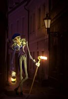 The Lamplighter by EllyWithAWhy