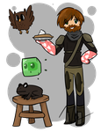 Guard Tom and Others by TheSilverPie