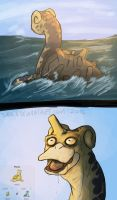 Is that a shiny Lapras??? by Shiala