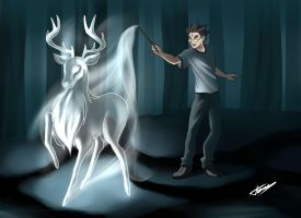 Patronus light by TomAlbert