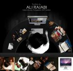 Ali Rajabi Website by modewa