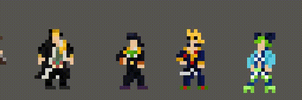 All of the jojos by venbullets