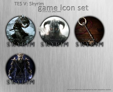 Skyrim Icon Set by XeoDon