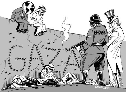 Gaza MASSACRE by Latuff2