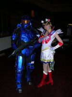 Sailor Moon and Caboose by UsagiHikaru