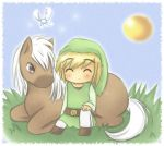 ww link and chibi epona x3 by Midna01