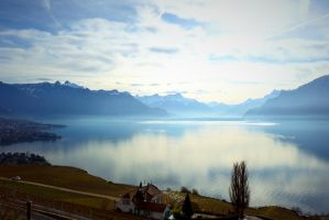 Swiss Lake by Destroth
