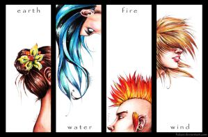 .four.elements. by Fukari