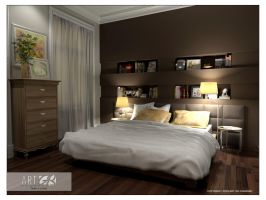 L5 Master Bedroom 2 by GorgeB