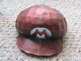 Mario Hat papercraft by may7733