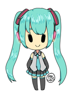 Miku by SleepyCelestial