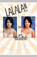 LALAL action1 by lifewithcokkie