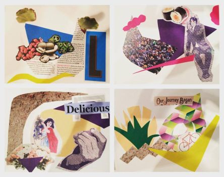 Collage Cards by s6i7