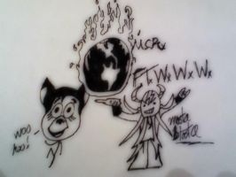 MCR FTWWW quick sketch 2 by zombis-cannibal