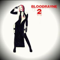 BLOODRAYNE 2 - Drawing of Rayne in Dress by MonsterH2O