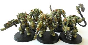 Chaos Terminators of Nurgle by Ninestar