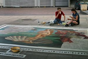 Unfinished Botticelli by MichelLalonde