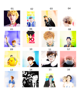 [140224] Happy Virus Icons by KerosHyun