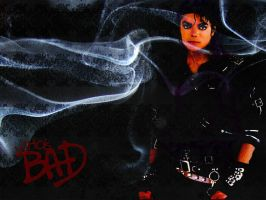 Michael Jackson Bad wallpaper by Harmony97