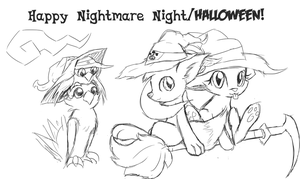 Happy Nightmare Night! ...er, Halloween? by Xeirla