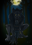 Everything Will Be Alright Big Wolf by Kona-Ann
