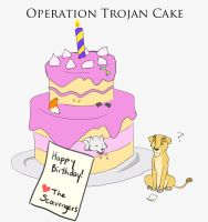 Operation Trojan Cake by triplecrane