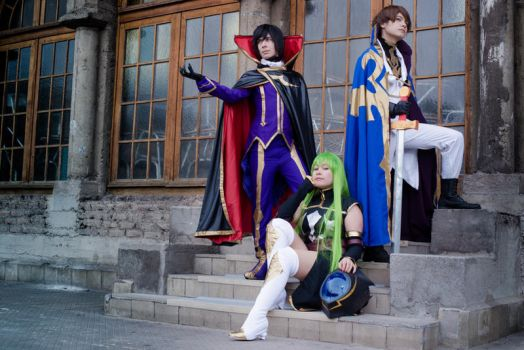 Code Geass - Lelouch of the Rebellion by cloeth