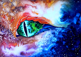 Space Eye by Kyyraneth