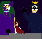 Masquerade Ball of Disaster by mamc1986