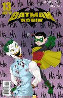 Batman and Robin issue 13 by memorypalace